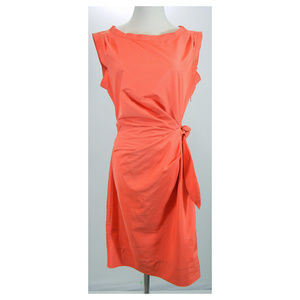 DIANE VON FURSTENBERG Della Sheath Faux Wrap Dress
